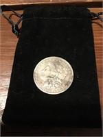 1890 O Morgan Silver