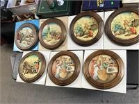 Fontanini Christmas plates