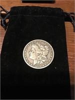 1896 S Morgan Silver Dollar