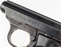 Gun Sterling Model 302 Semi Auto Pistol in 22LR