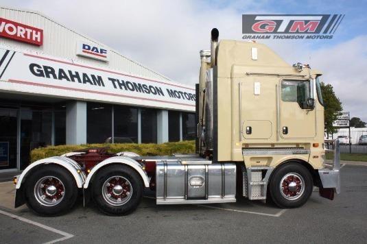 2012 Kenworth K200 Aerodyne Graham Thomson Motors - Trucks for Sale