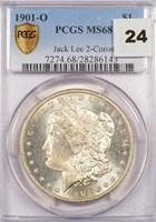$1 1901-O PCGS MS68 EX JACK LEE 2