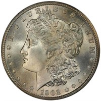 $1 1902-S PCGS MS67+ CAC CORONET COLLECTION