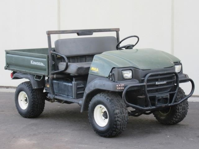 2005 Kawasaki Mule 3000 UTV | United Country Musick & Sons