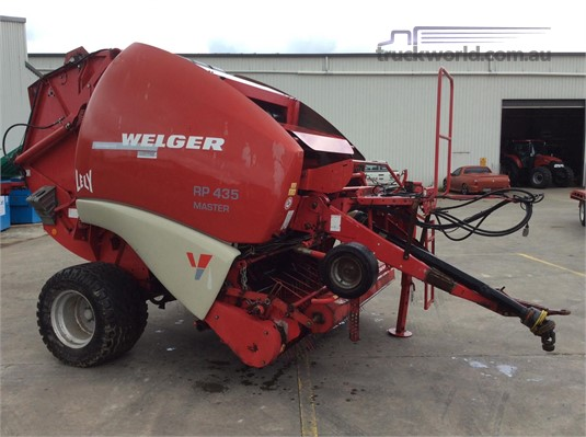 2008 Welger RP435 MASTER - Farm Machinery for Sale