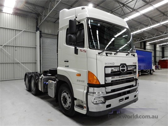 2019 Hino 700 Series 2848 SS AMT Air - Trucks for Sale