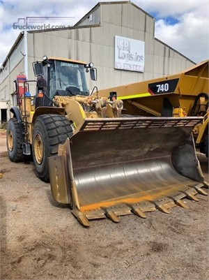 2010 Caterpillar 980H Delco Equipment Pty Ltd - Heavy Machinery for Sale