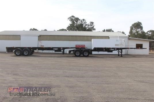 2011 Cimc Skel B Double Set - Trailers for Sale