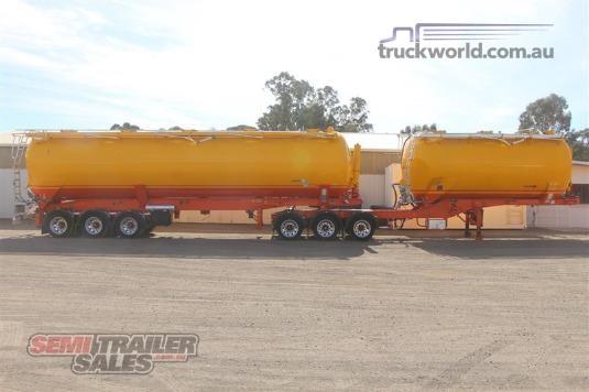 2007 Convair Bulk Dry Tanker Semi Trailer - Trailers for Sale