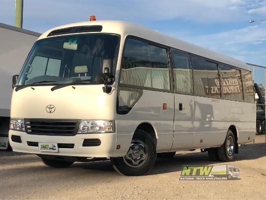 2013 Toyota Coaster Deluxe National Truck Wholesalers Pty Ltd - Buses for Sale