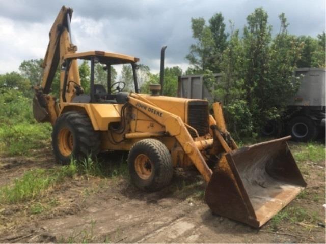 John Deere 710B Turbo Loader/Backhoe Tractor | Kraft Auction