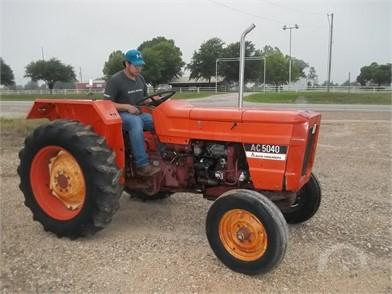 Allis-Chalmers Tractors Online Auction Results - 379