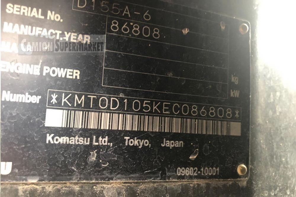 Komatsu D155A-6 Usato 2015