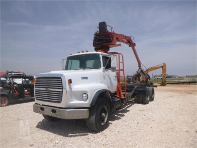 1987 FORD L9000 GRAPPLE TRUCK Other Auction Results - 1