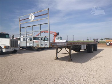 1985 GREAT DANE 40FT FLAT BED TRAILER Andere Artikel ... on