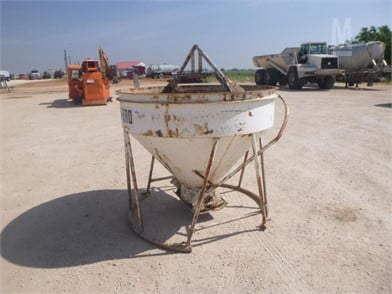 GAR-BRO FUNNEL TYPE CONCRETE BUCKET Other Auction Results