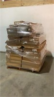 Assorted Light Fixtures and Replacement Lens-