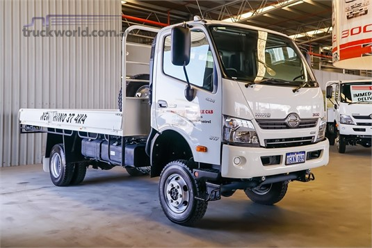 2018 Hino 300 Series 817 4x4 WA Hino - Trucks for Sale
