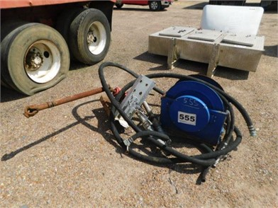 PTO-DRIVEN FUEL PUMP W/ REEL HOSES AND NOZZLES Other Auction