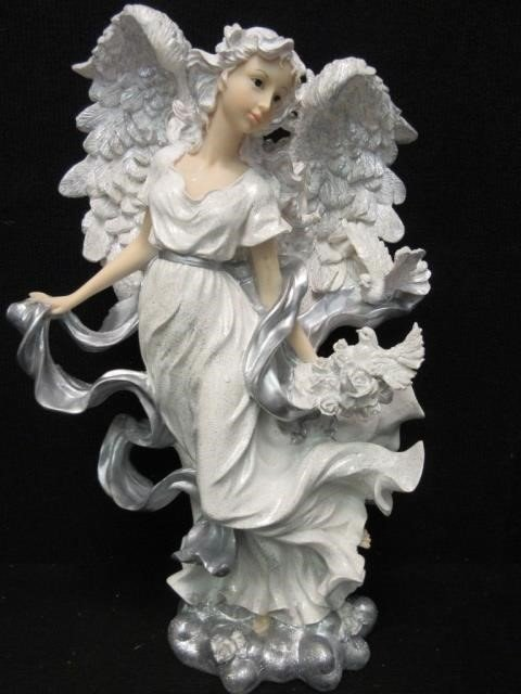Lot 2278e Home Interiors Silver Glory Angel