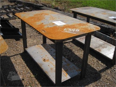 Fine Heavy Duty 30X57 Welding Shop Table W Shelf Other Auction Gmtry Best Dining Table And Chair Ideas Images Gmtryco