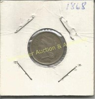 Coin, Currency, Stamp & Militarty Memorabilia Auction