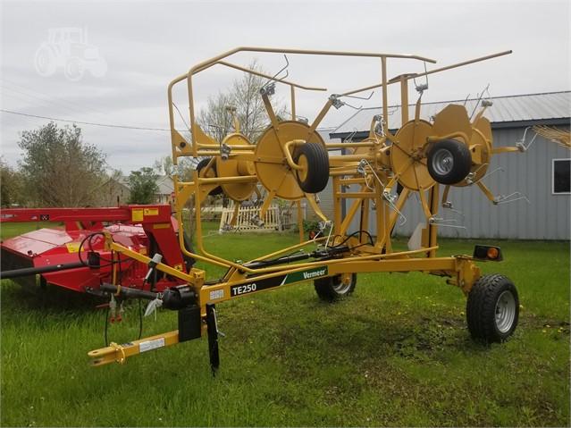 2017 VERMEER TE250 For Sale In Villard, Minnesota | www