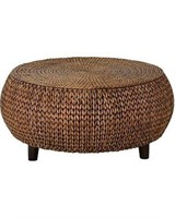 GALLERIE DÉCOR BALI BREEZE LOW ROUND ACCENT TABLE/
