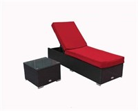 EL PATIO CHAISE LOUNGE WITH SIDE TABLE