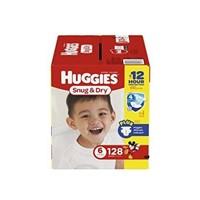 HUGGIES SNUG & DRY DIAPERS  18+ MONTHS