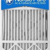 NORDIC AC & FURNACE AIR FILTER 20X20X5'' 4PCS