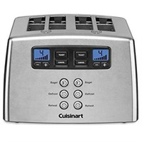 CUISINART 4 SLICE TOUCH TO TOAST LEVERLESS TOASTER