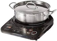 GOWISE PORTABLE INDUCTION COOKTOP W/ PAN