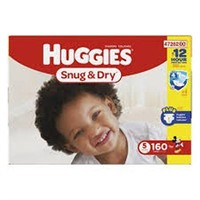 HUGGIES SNUG AND DRY DIAPERS SIZE 5