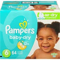 PAMPERS BABY DRY SIZE 6 120 COUNT