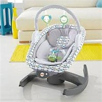 FISHER PRICE 4 IN 1 ROCK N GLIDE SOOTHER