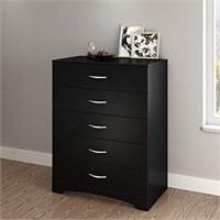 SOUTHSHORE 5 DRAWER CHEST (NOT ASSEMBLED)