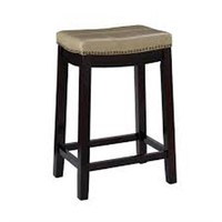"CLARIDGE 26"" CUSHIONED COUNTER STOOL"