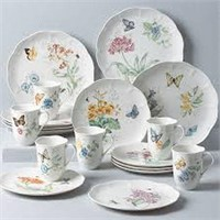 BUTTERFLY MEADOW 18PC DINNERWARE SET