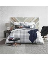 TOMMY HILFIGER COMFORTER SET KING
