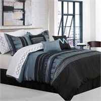 SAFDIE AND CO. 7PC COMFORTER SET DOUBLE
