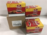 96 PODS FOLGERS GOURMET COFFEE BEST BEFORE