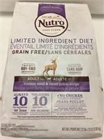 22LBS NUTRO DOG FOOD BEST BEFORE 2019/FEB/21