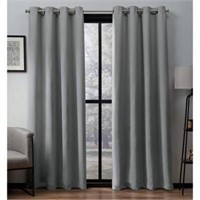 4 PIECES CURTAIN PANELS 52 X 63""