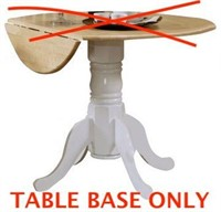 COASTER DINING TABLE BASE ONLY (NOT ASSEMBLED)