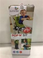 SUMMER POP 'N SIT BOOSTER SEAT
