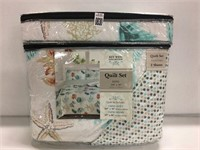 KEY WEST COLLECTION QUILT SET,KING
