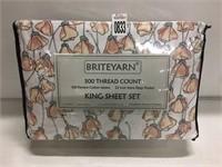 BRITEYARN KING SHEET SET