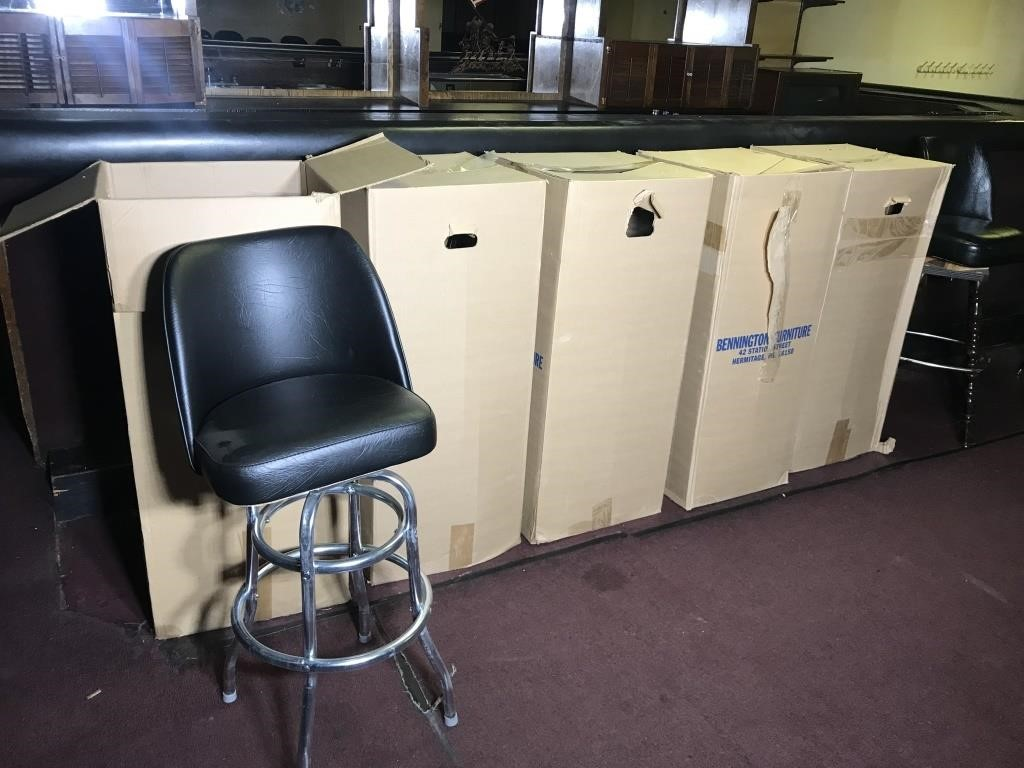 Bennington Furniture Bar Stools 5 United Country Heard Auction