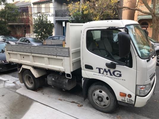 2014 Hino 300 Series 616 Short IFS Dump - Trucks for Sale